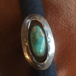 Jewelry - Shadowbox Turquoise and Sterling Silver ring